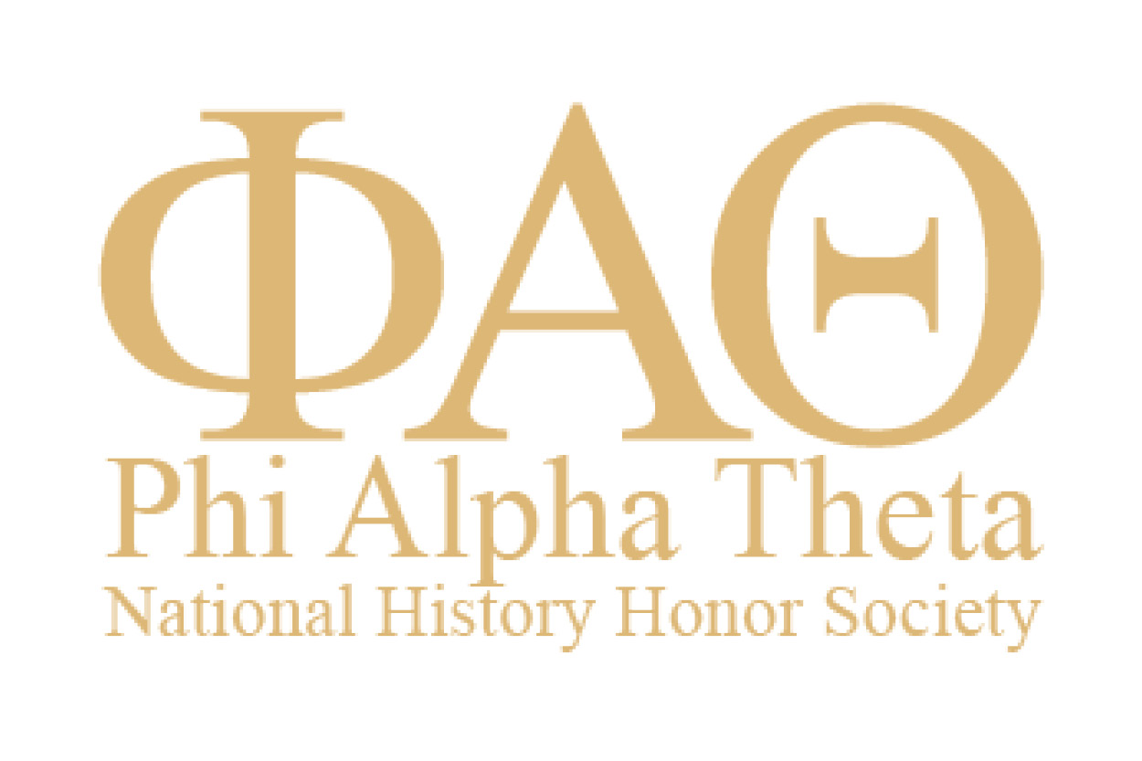 This is the Phi Alpha Theta logo.