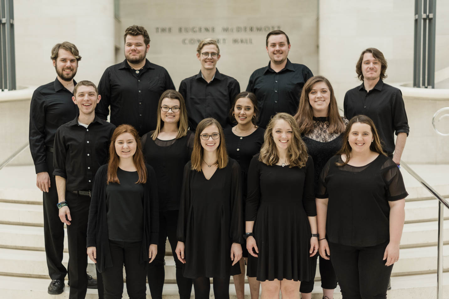 This is a photo of the Harding University Chamber Singers.