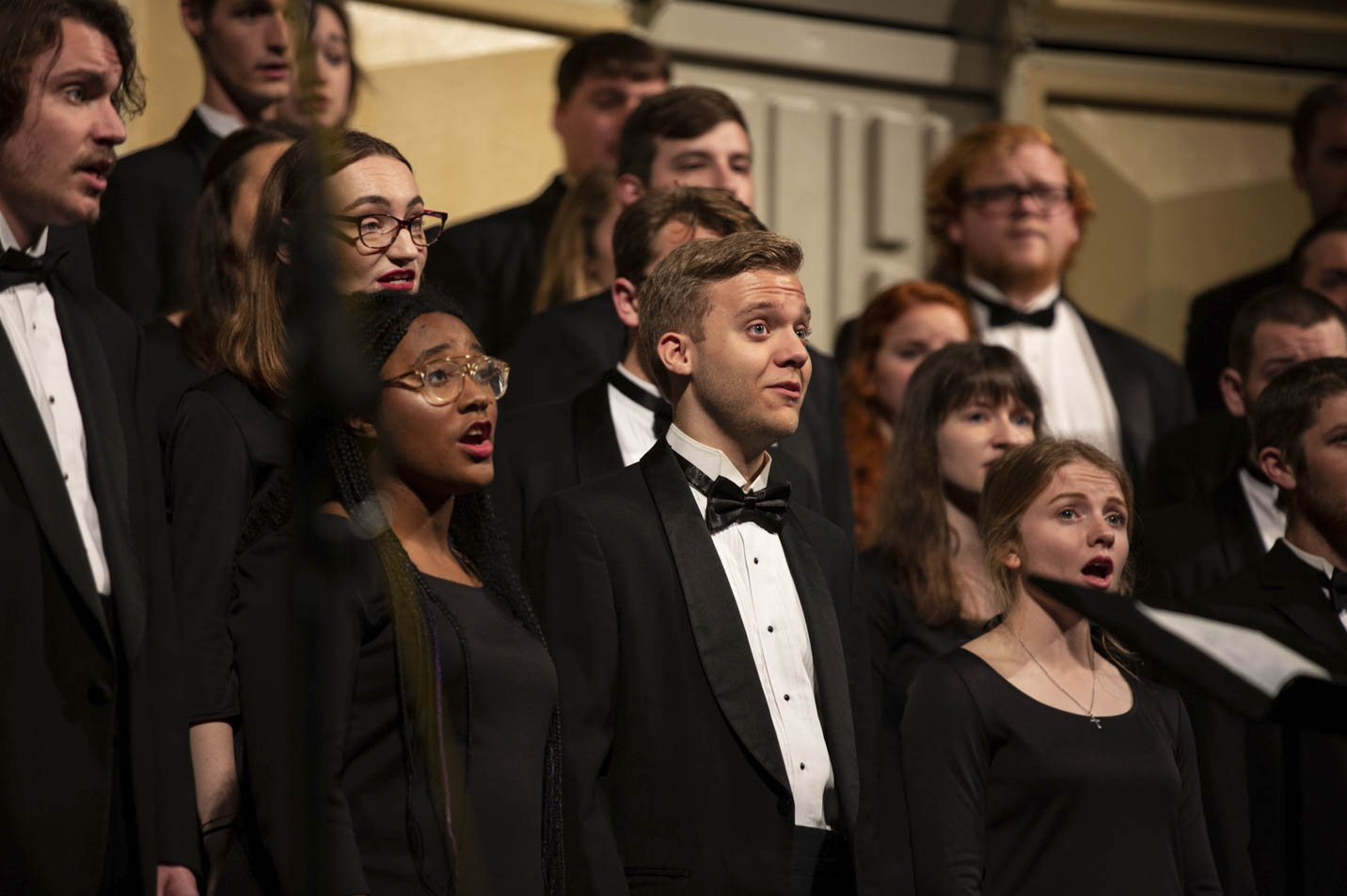 This is a photo of the Harding University Chorus.