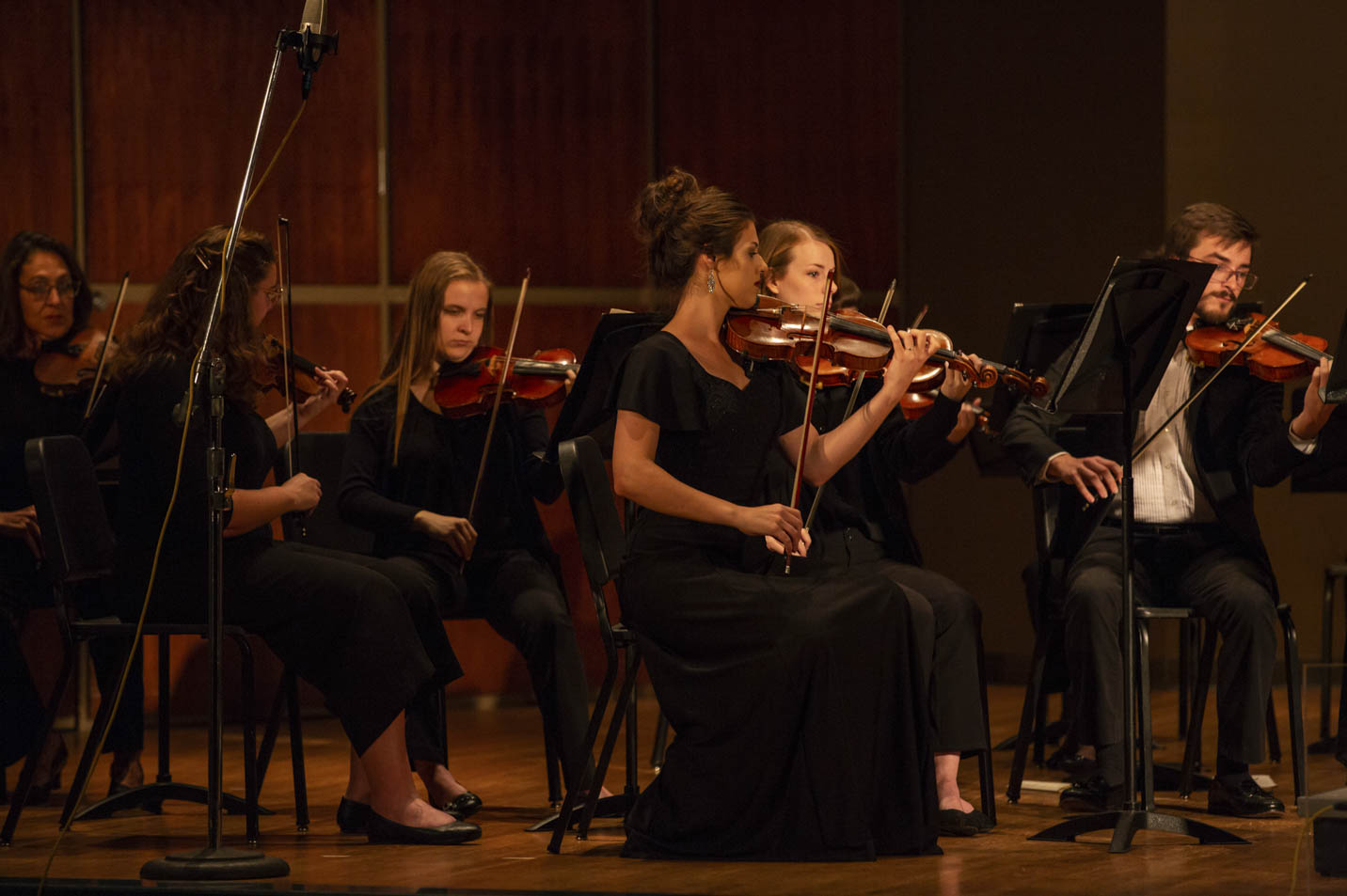 This is a photo of the Harding University Orchestra.