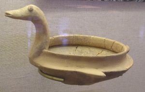 Bowl shaped like a bird