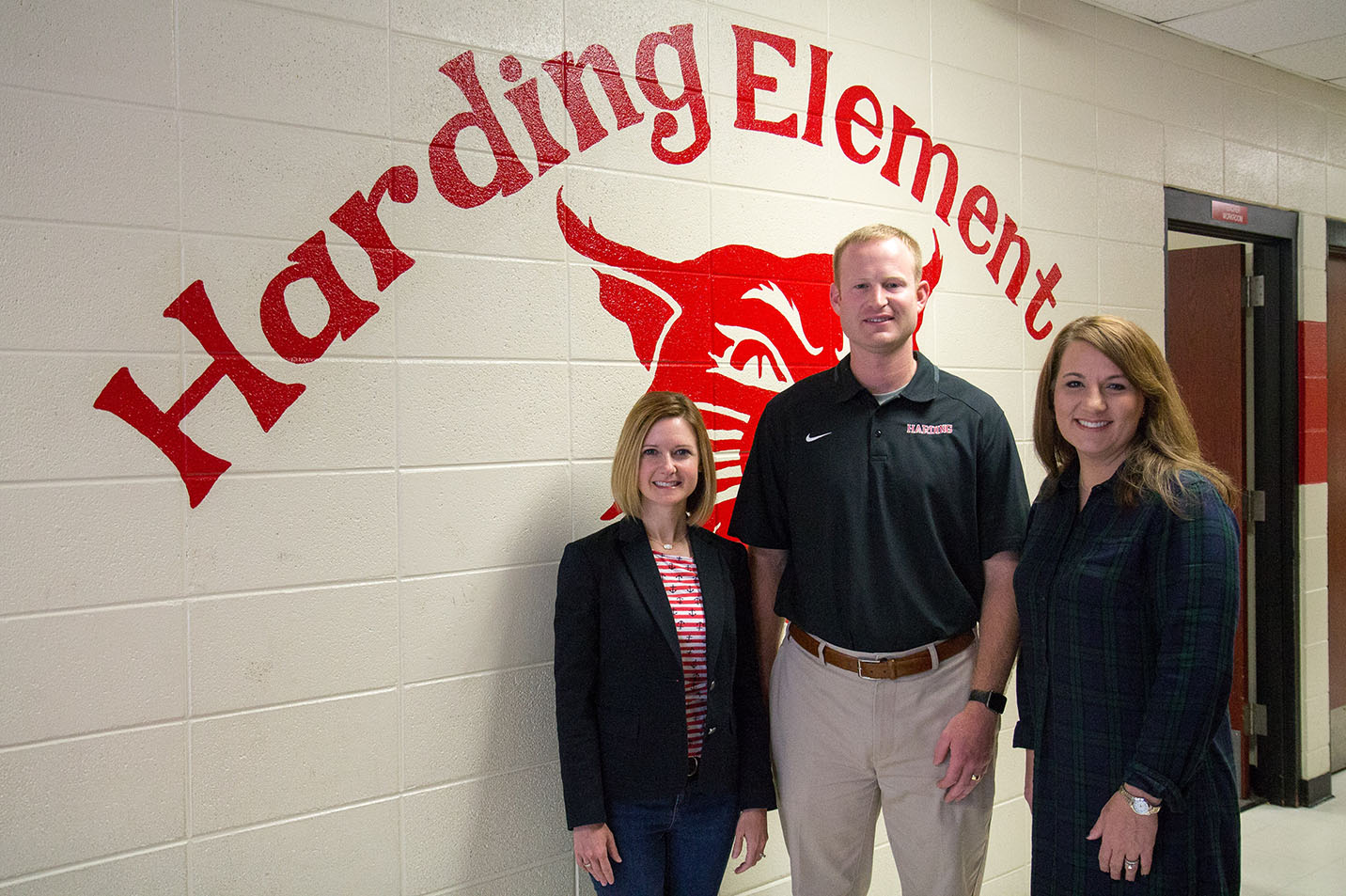 This is a photo of the ASEC team, Melanie Blansett, Kevin Ganus and director Shannon King, and they provide numerous ways to engage students and help them see academic success.