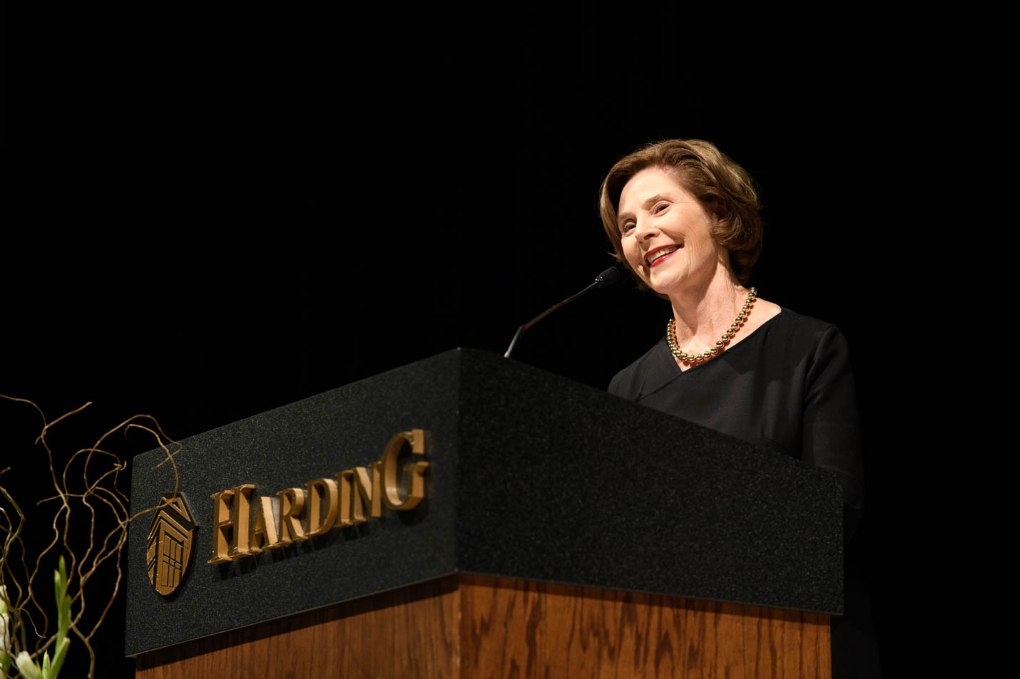 This is a photo of Laura Bush.