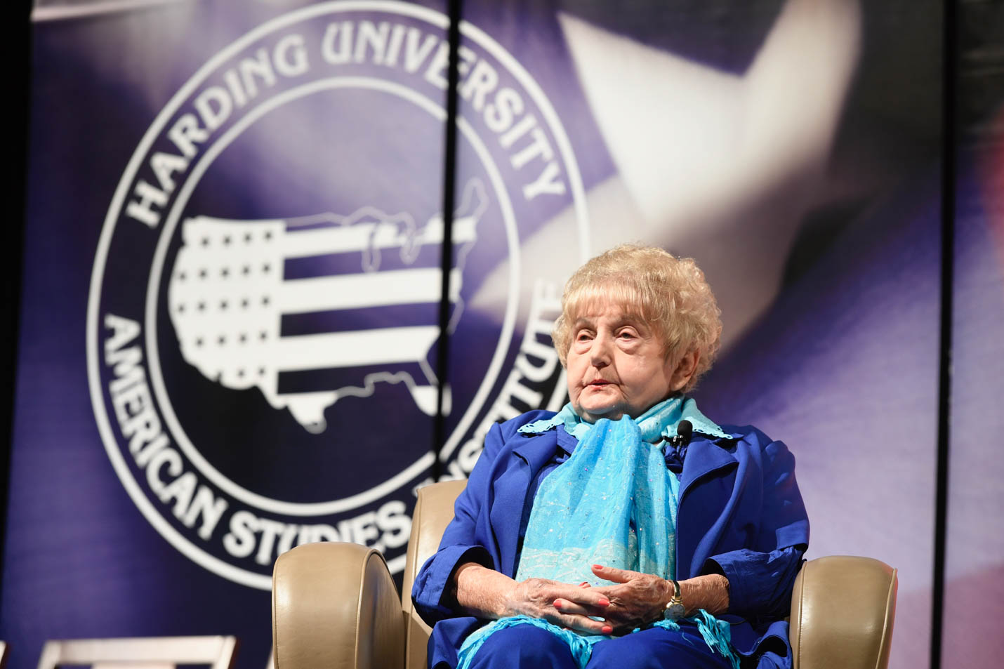 This is a photo of Eva Kor.