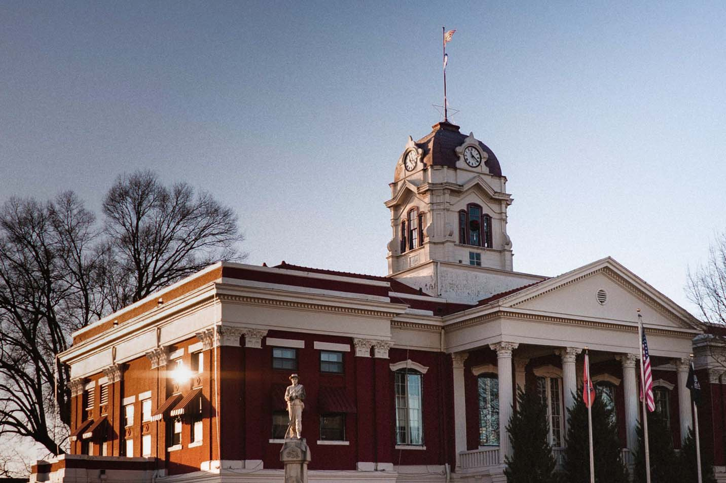 This is a photo of the Searcy Courthouse