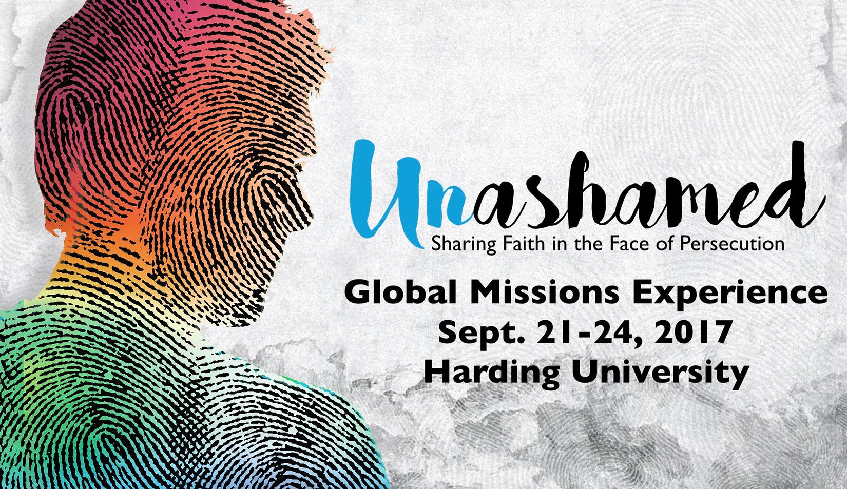 Global Missions Experience theme Unashamed